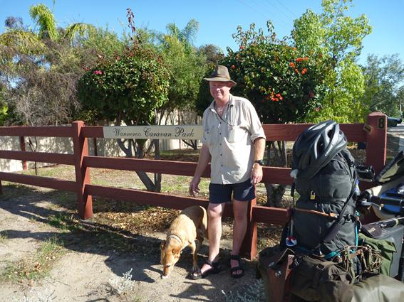Leaving Wanneroo Caravan Park