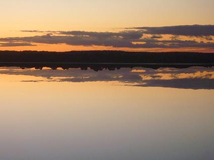 119 Pink Lake at dusk 02, Espaerance, WA