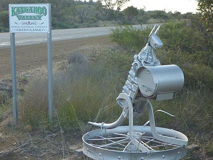 26 Swish mailboxes. North-East of Green Range, WA